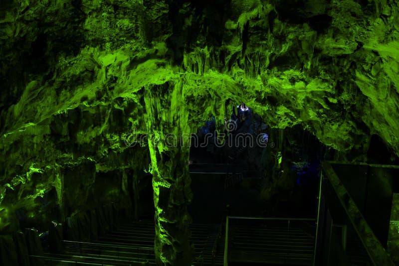 Σπηλιά Γιβραλτάρ του ST Michael ` s στοκ εικόνες με δικαίωμα ελεύθερης χρήσης