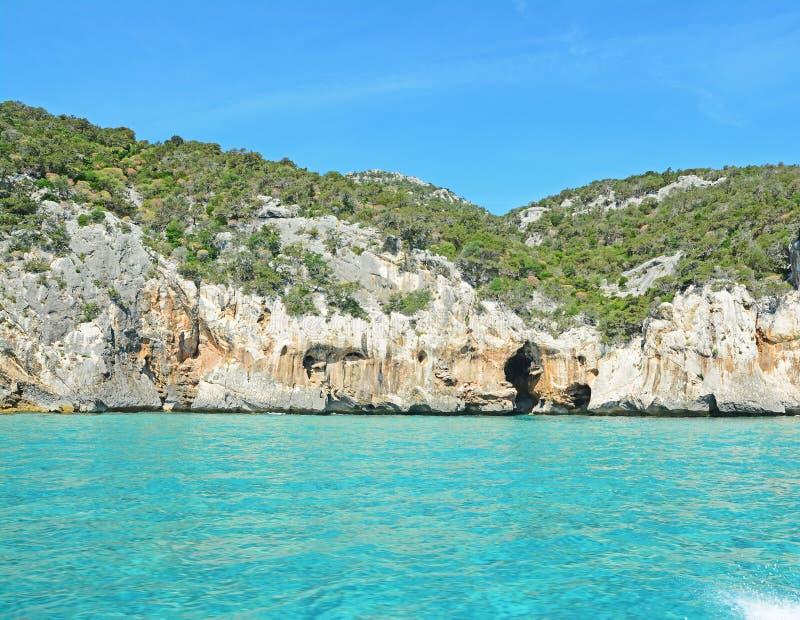 Σπηλιά θαλασσίως στοκ φωτογραφία
