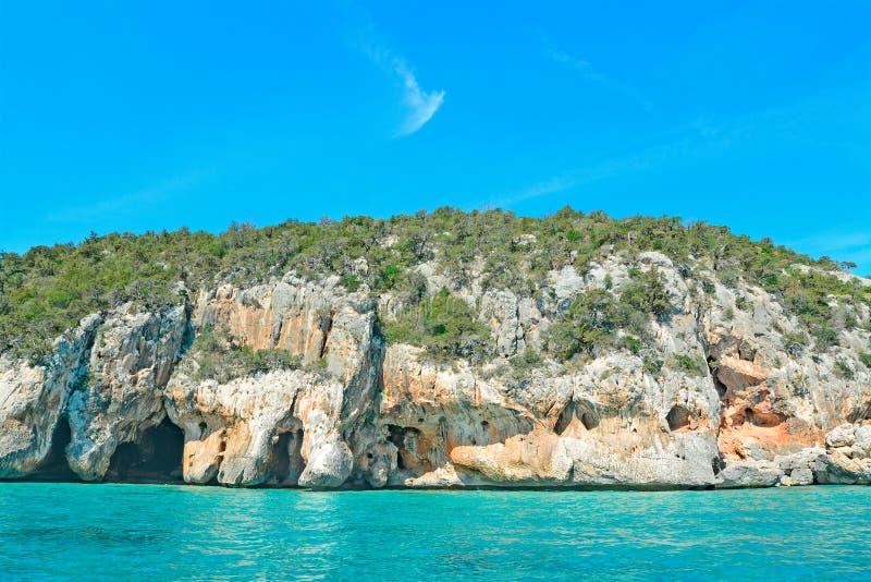 Σπηλιά θαλασσίως στοκ φωτογραφίες