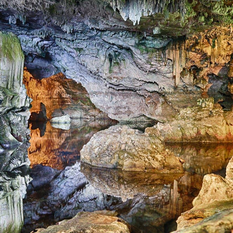 Σπηλιά Σαρδηνία Neptun στοκ εικόνες