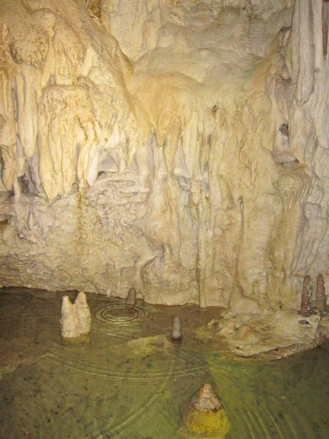 Σπηλιά σταλακτιτών και σταλαγμιτών, Σλοβακία στοκ φωτογραφία
