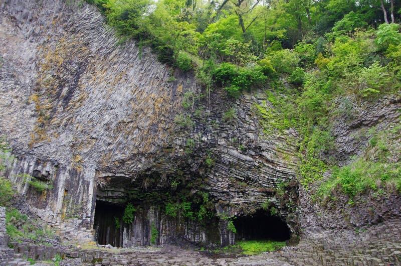 Σπηλιά Genbudo στοκ φωτογραφία