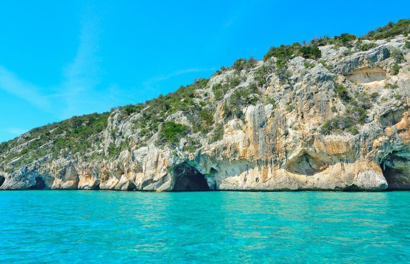 Σπηλιά Marino Bue στη Σαρδηνία, Ιταλία στοκ εικόνα με δικαίωμα ελεύθερης χρήσης