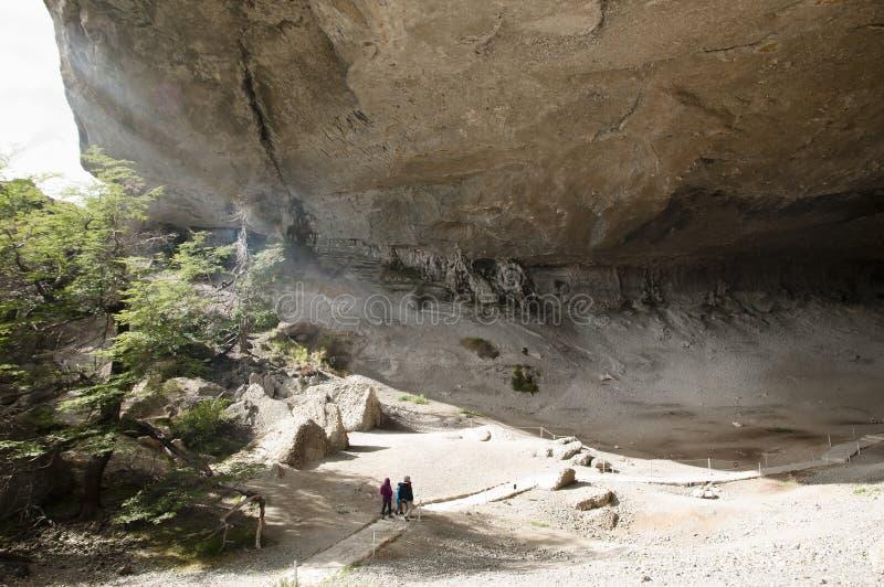 Σπηλιά Milodon - Χιλή στοκ εικόνες