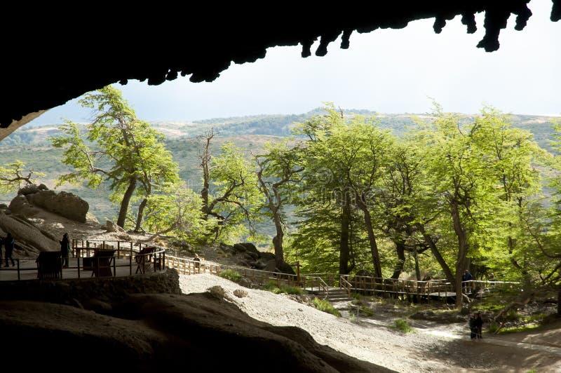 Σπηλιά Milodon - Χιλή στοκ φωτογραφία