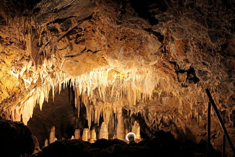 Σπηλιά Vazecka, Σλοβακία στοκ φωτογραφία