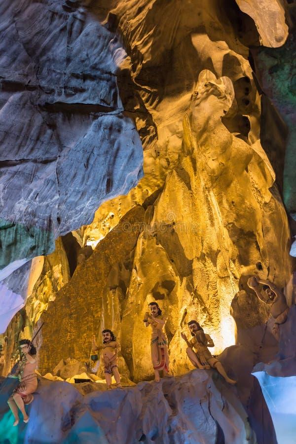 σπηλιές Κουάλα Λουμπούρ Μαλαισία batu πλησίον στοκ εικόνες