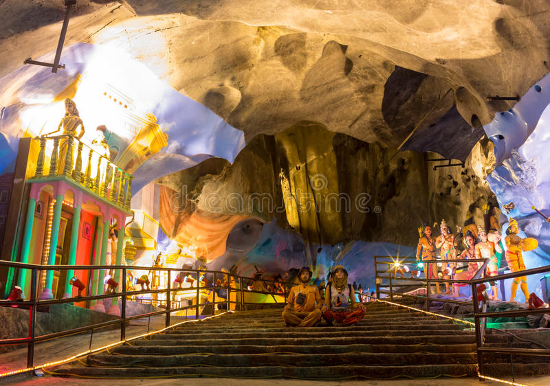 σπηλιές Κουάλα Λουμπούρ Μαλαισία batu πλησίον στοκ φωτογραφία με δικαίωμα ελεύθερης χρήσης