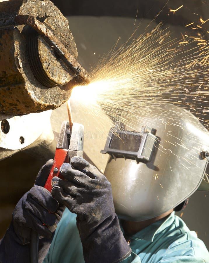 σπινθήρας εργασίας στοκ φωτογραφία με δικαίωμα ελεύθερης χρήσης