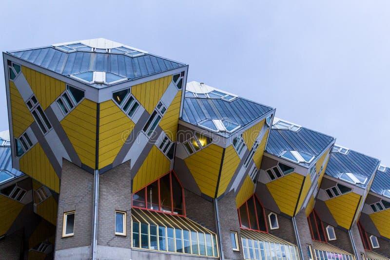 ΣΠΙΤΙΑ ΚΥΒΩΝ, Ρότερνταμ, Κάτω Χώρες - 3 Δεκεμβρίου 2017: Hou κύβων στοκ φωτογραφία με δικαίωμα ελεύθερης χρήσης
