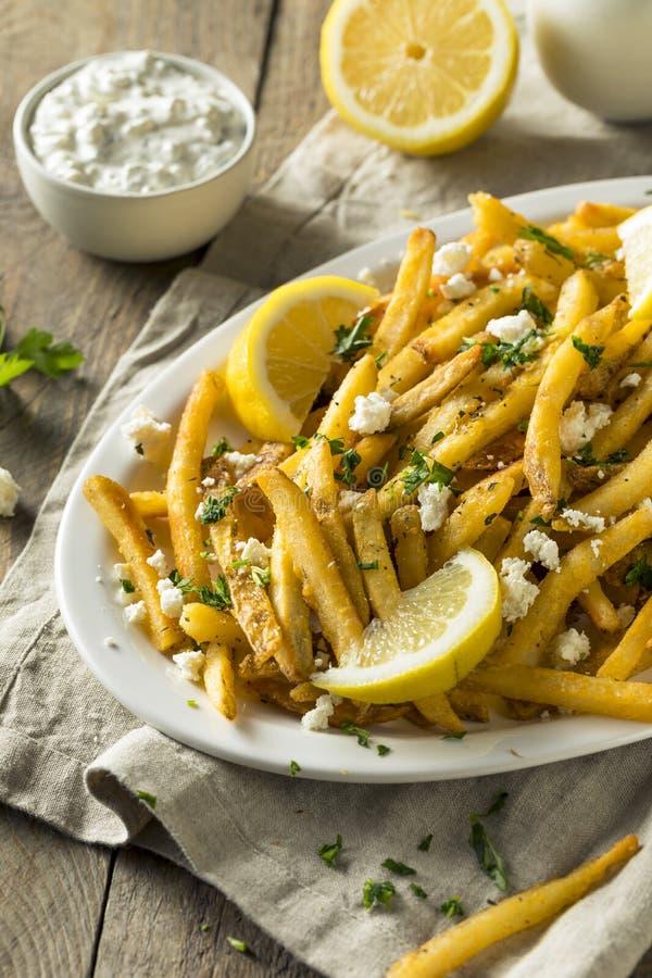 Σπιτικά ελληνικά τηγανητά φέτας και μαϊντανού στοκ φωτογραφία με δικαίωμα ελεύθερης χρήσης