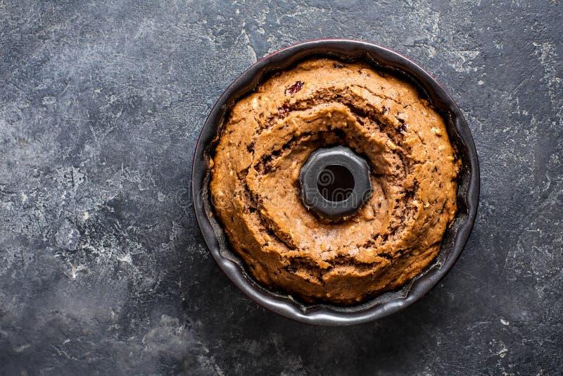 σπιτικά καρύδια κέικ στοκ εικόνες με δικαίωμα ελεύθερης χρήσης