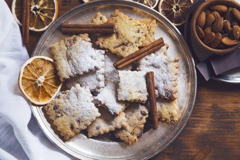 Σπιτικά μπισκότα στοκ φωτογραφίες
