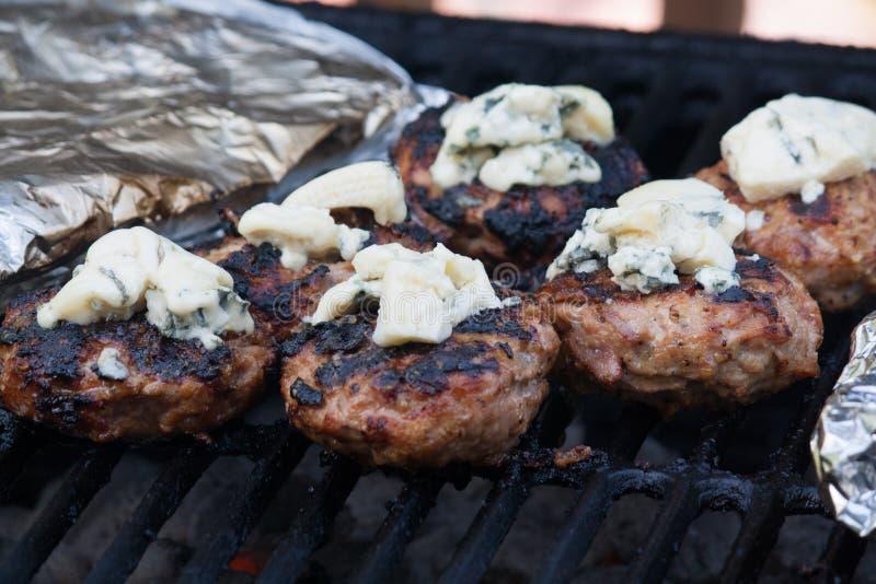 Σπιτικά burgers BBQ στοκ φωτογραφίες με δικαίωμα ελεύθερης χρήσης