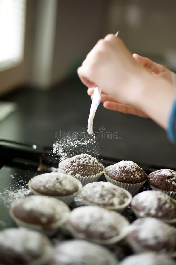 σπιτικά muffins στοκ φωτογραφίες με δικαίωμα ελεύθερης χρήσης