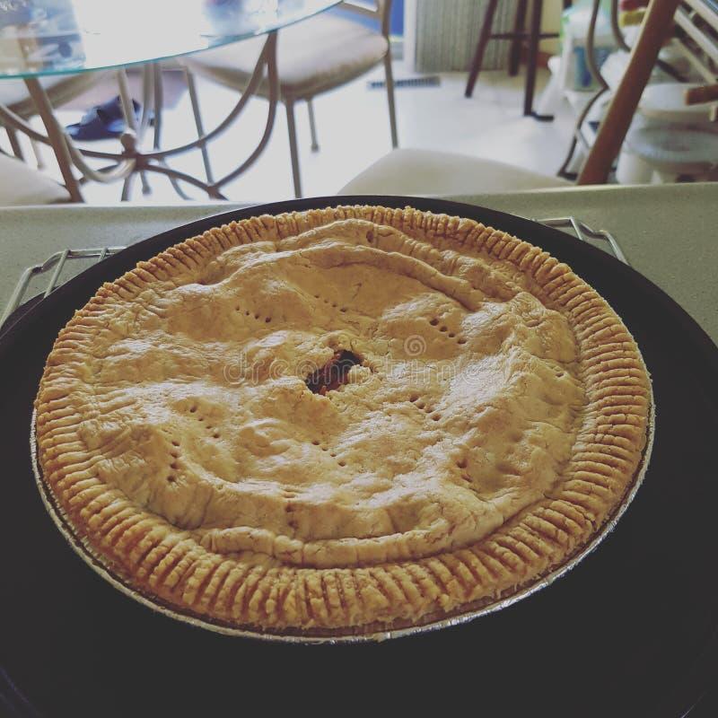σπιτική πίτα μήλων στοκ εικόνα με δικαίωμα ελεύθερης χρήσης