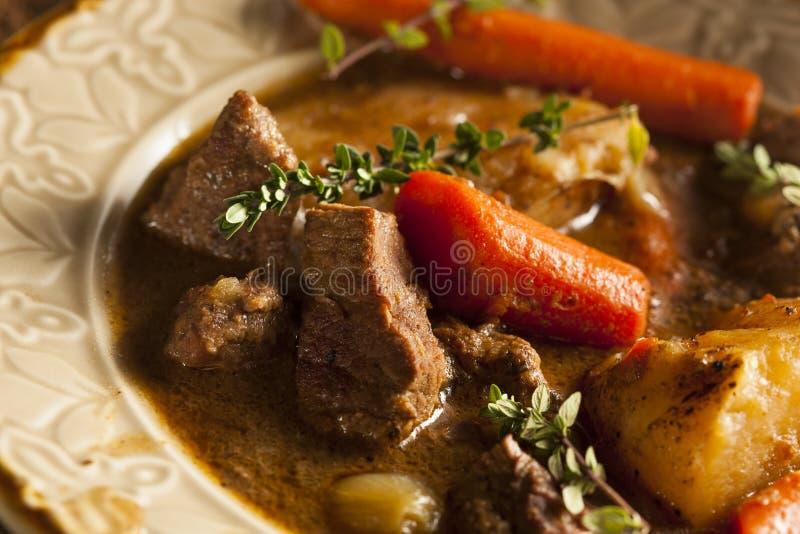 Σπιτικό ιρλανδικό Stew βόειου κρέατος στοκ εικόνες με δικαίωμα ελεύθερης χρήσης