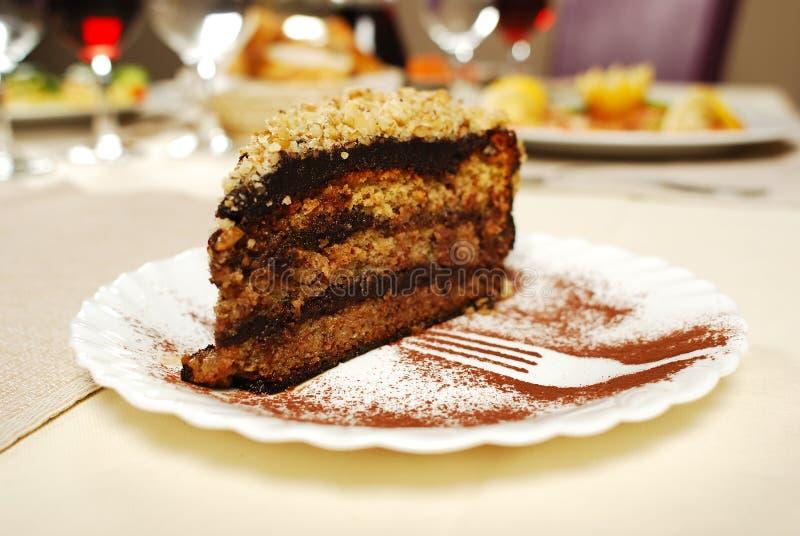 Σπιτικό κέικ tiramisu, ιταλικό επιδόρπιο στοκ φωτογραφία με δικαίωμα ελεύθερης χρήσης