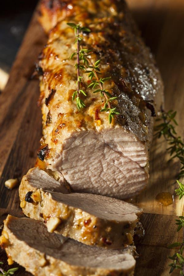 Σπιτικό καυτό Tenderloin χοιρινού κρέατος στοκ φωτογραφία με δικαίωμα ελεύθερης χρήσης