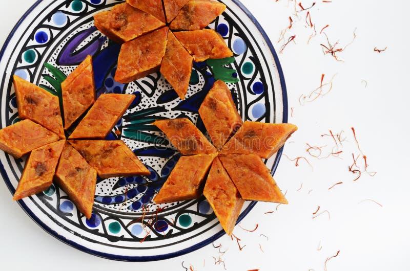 Σπιτικό halwa καρότων, παραδοσιακό ινδικό επιδόρπιο στοκ φωτογραφίες με δικαίωμα ελεύθερης χρήσης