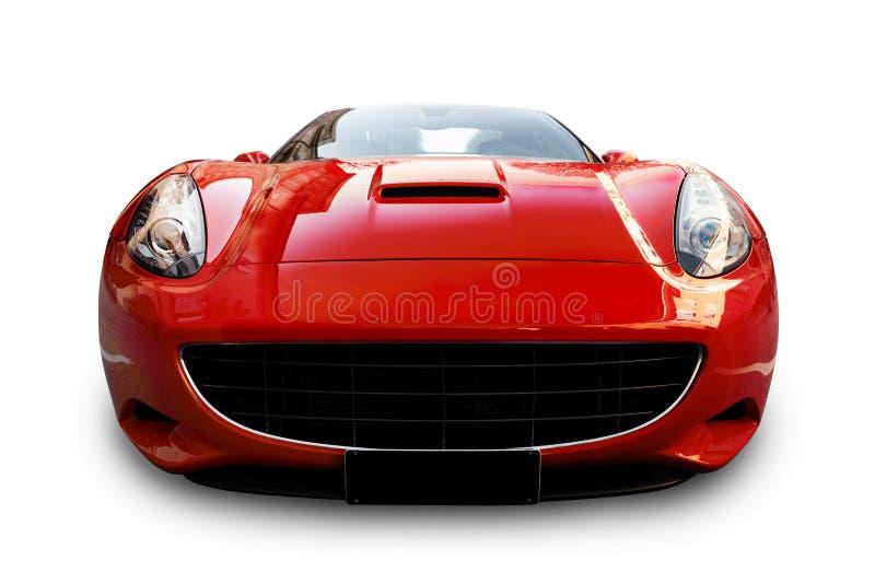 Σπορ αυτοκίνητο τα κόκκινα ιταλικά στοκ φωτογραφία