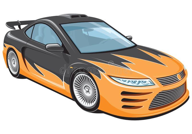 Σπορ αυτοκίνητο απεικόνιση αποθεμάτων