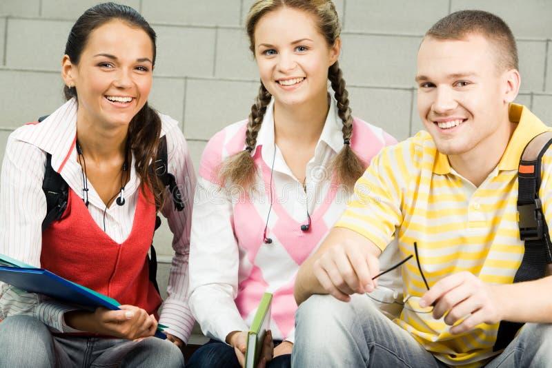 σπουδαστές ομάδας στοκ φωτογραφίες με δικαίωμα ελεύθερης χρήσης
