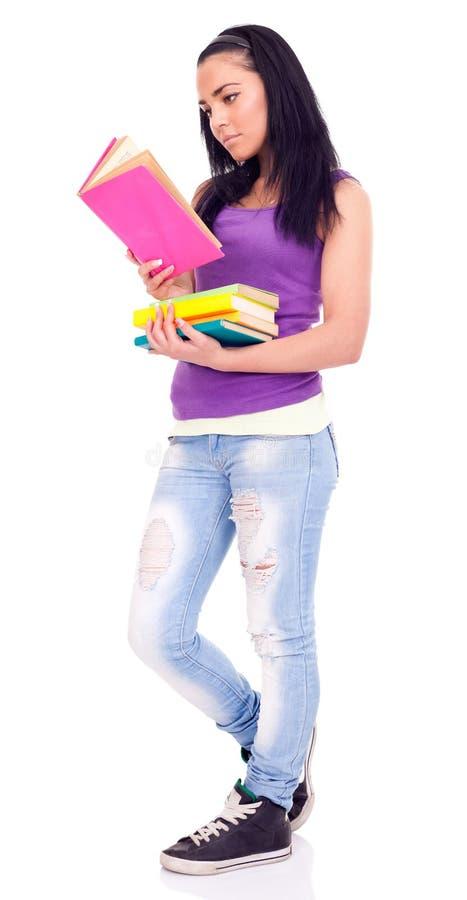 σπουδαστής ανάγνωσης κ&omicro στοκ φωτογραφία