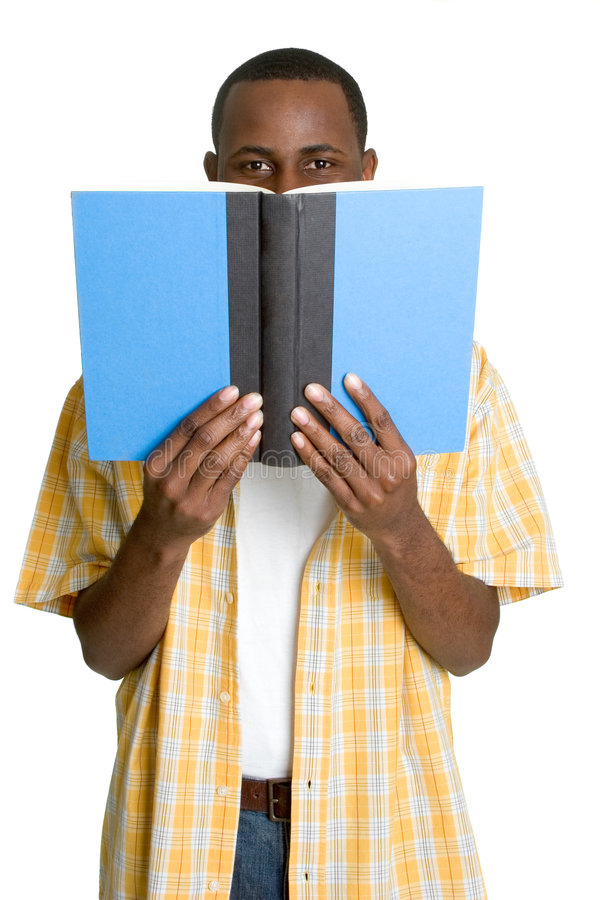 σπουδαστής ανάγνωσης στοκ φωτογραφία
