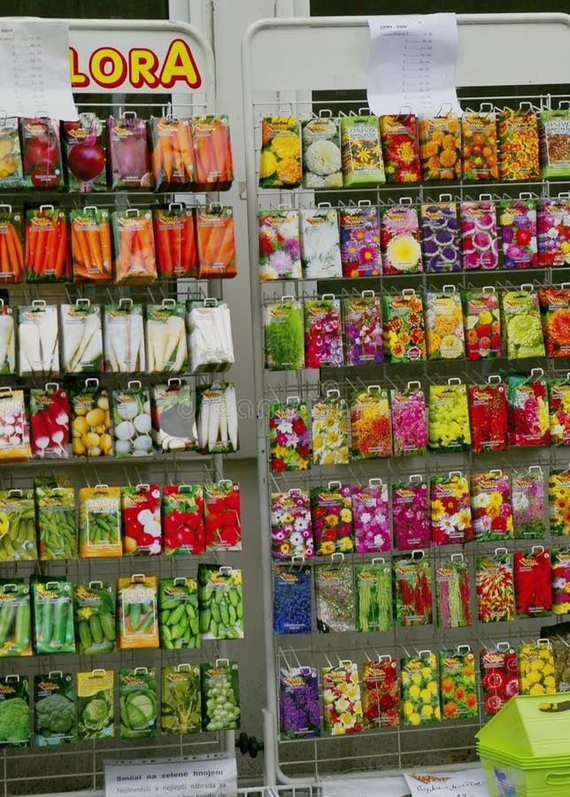 Σπόροι κηπουρικής στοκ εικόνες με δικαίωμα ελεύθερης χρήσης