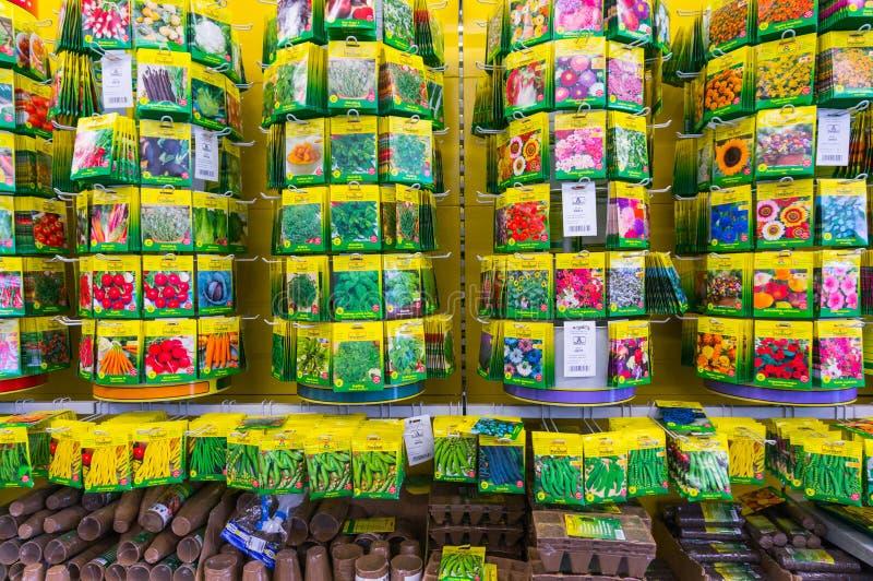 Σπόροι λουλουδιών στοκ φωτογραφίες