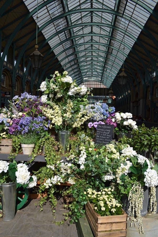 Στάβλος λουλουδιών κήπων Covent στοκ εικόνες
