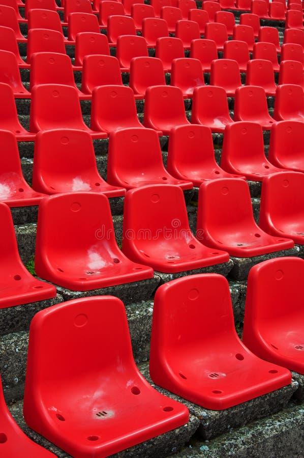 στάδιο καθισμάτων προτύπων στοκ φωτογραφίες με δικαίωμα ελεύθερης χρήσης