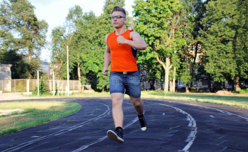 Στάδιο που τρέχει workout στοκ εικόνα με δικαίωμα ελεύθερης χρήσης