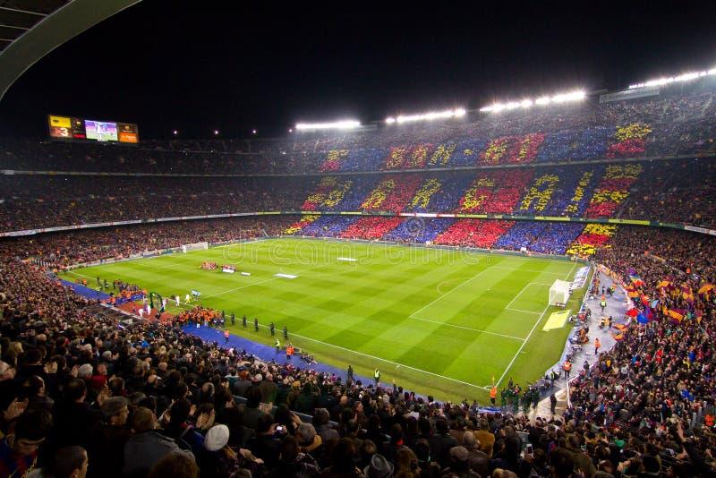 Στάδιο της Βαρκελώνης στοκ φωτογραφίες με δικαίωμα ελεύθερης χρήσης