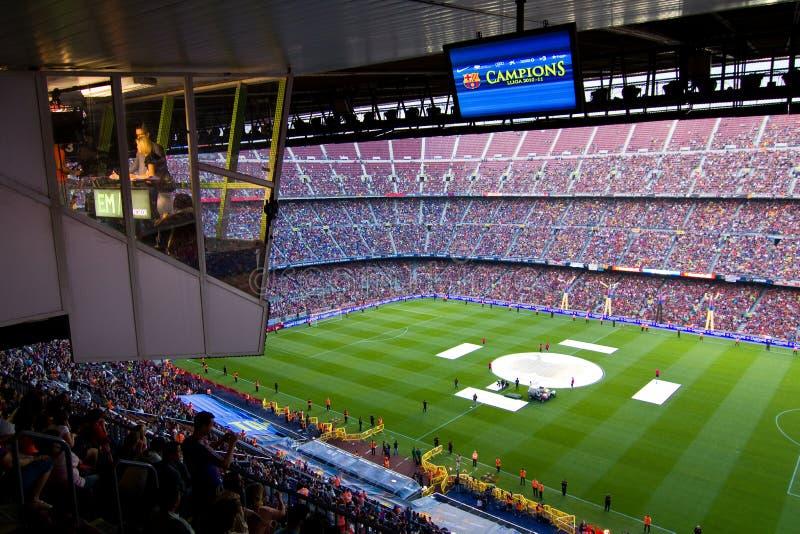 στάδιο της Βαρκελώνης fc στοκ φωτογραφίες με δικαίωμα ελεύθερης χρήσης