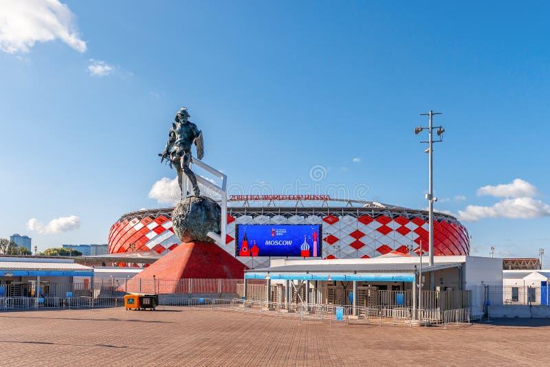 Στάδιο Spartak, Παγκόσμιο Κύπελλο της FIFA του 2018 στοκ εικόνες