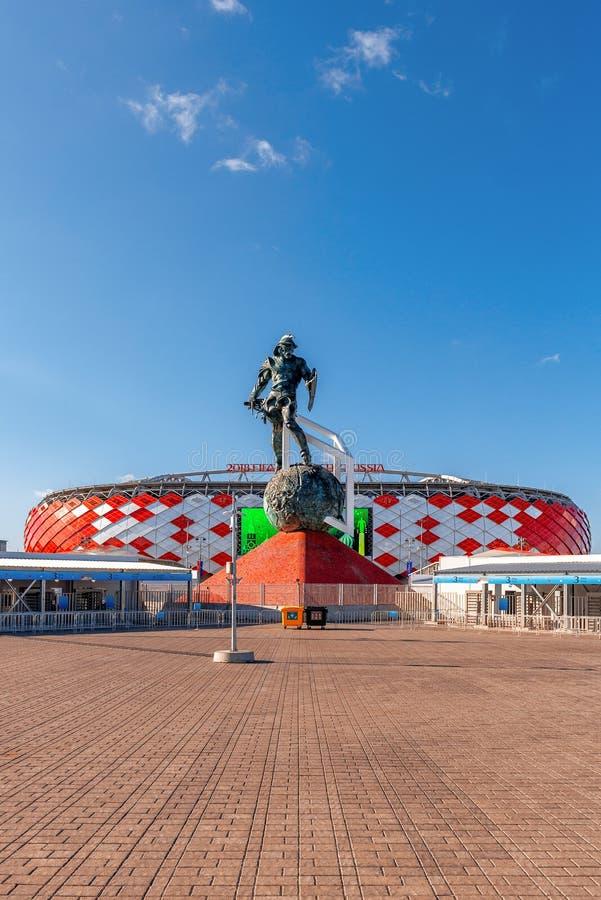 Στάδιο Spartak, Παγκόσμιο Κύπελλο της FIFA του 2018 στοκ εικόνες με δικαίωμα ελεύθερης χρήσης