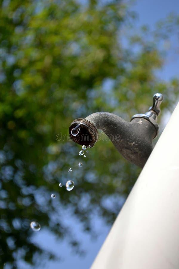στάζοντας βρύση κήπων στρο&p στοκ φωτογραφία με δικαίωμα ελεύθερης χρήσης