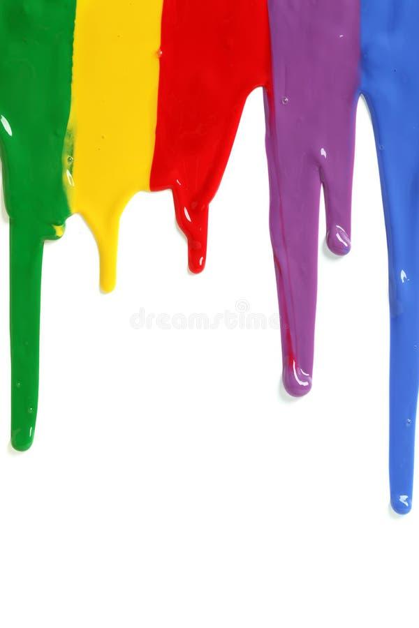 στάζοντας χρώμα στοκ εικόνα με δικαίωμα ελεύθερης χρήσης