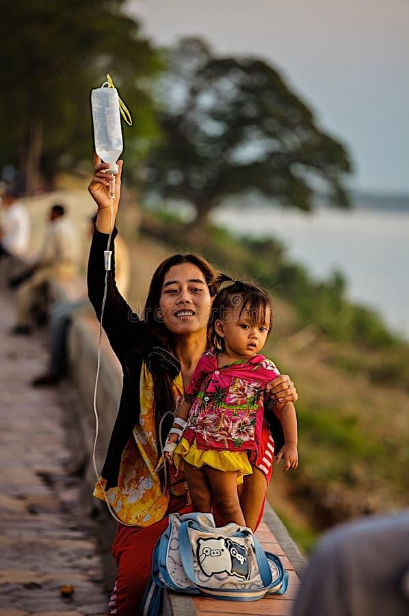 Στάξτε ένα παιδί στην οδό στοκ εικόνες με δικαίωμα ελεύθερης χρήσης