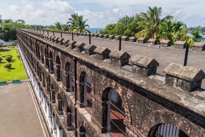 στάσεις τουριστών στη στέγη της φυλακής στο λιμένα Blair στοκ φωτογραφίες