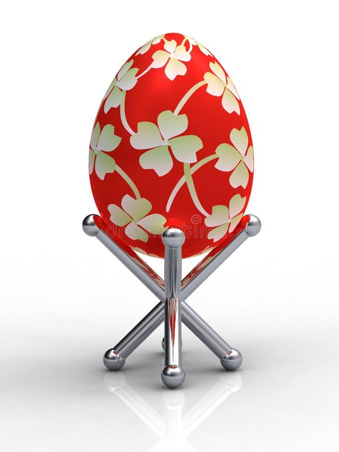 στάση αυγών Πάσχας διανυσματική απεικόνιση