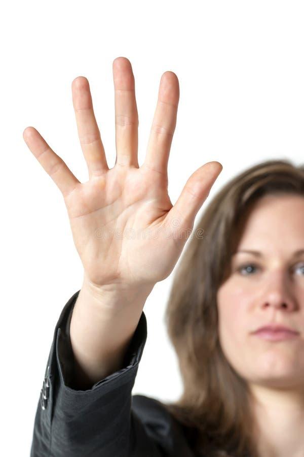 Στάση επιχειρησιακών γυναικών στοκ εικόνες με δικαίωμα ελεύθερης χρήσης