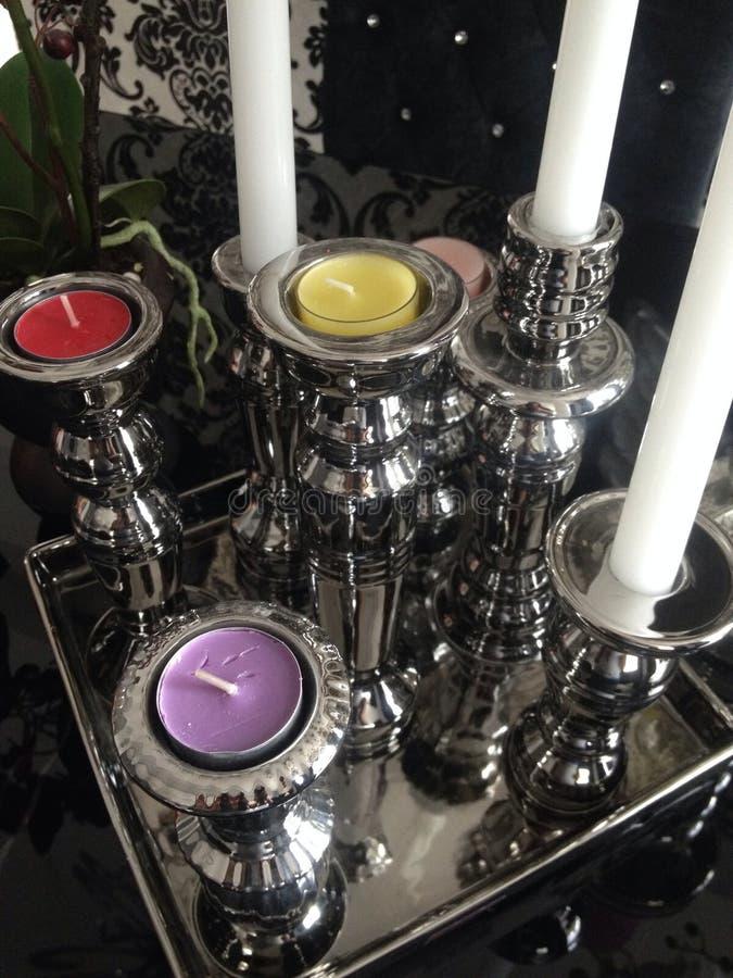 Στάση κεριών στοκ φωτογραφίες με δικαίωμα ελεύθερης χρήσης