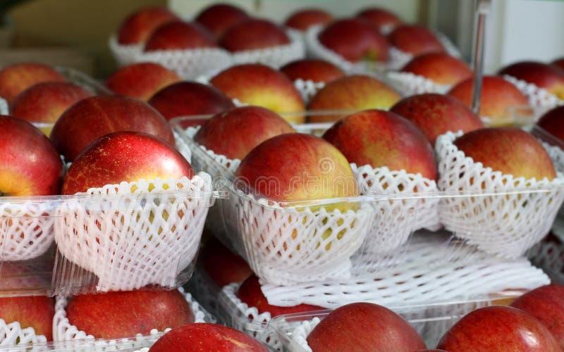 στάση μήλων στοκ φωτογραφίες