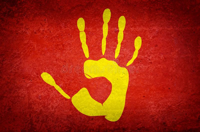 στάση σημαδιών ελεύθερη απεικόνιση δικαιώματος