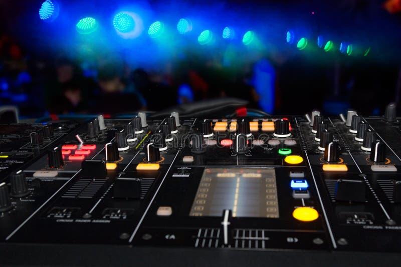 Στάση του DJ στοκ εικόνες