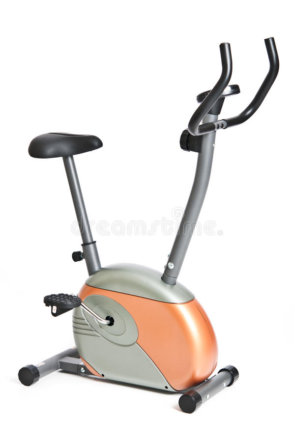 Στάσιμο ποδήλατο 2 άσκησης στοκ εικόνα