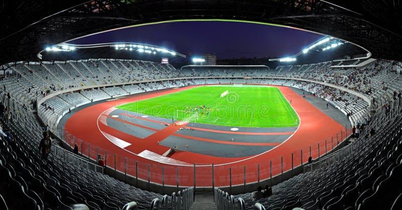 Στάδιο ποδοσφαίρου χώρων του Cluj, Ρουμανία στοκ εικόνα με δικαίωμα ελεύθερης χρήσης